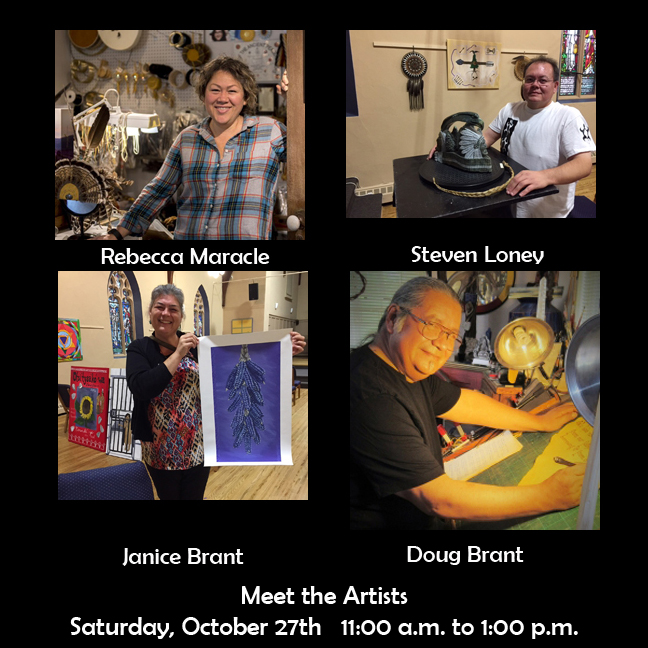 Meet the Artists @ St. Andrew's Church