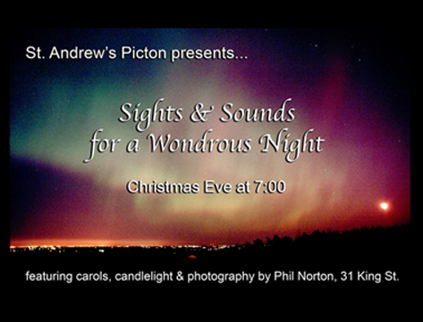 Sights & Sounds For A Wondrous Night @ St. Andrew's Church
